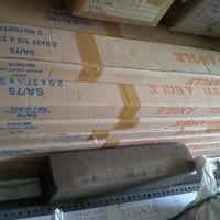Besi siku lubang UNION / SAF 3,75x3,75cm, 4 meter, tebal 2mm