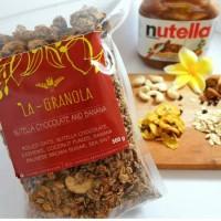 Jual La Granola 480gr - Nutella Banana Murah