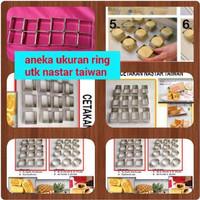 Jual Cetakan Kue Kering Nastar Taiwan Biscuit Cookie Maker Ring Cutter Pie Murah
