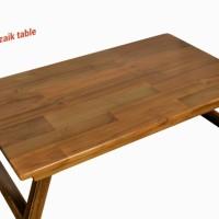 Jual Meja lipat laptop kayu jati/laptop stand/mozaik table Murah