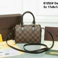 tas slempang louis vuitton spedy mini bhn leather waterproof