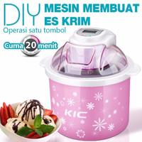 dapur KIC Mesin Pembuat Es Krim DIY Membuat 20 Menit 1 5L Ice Cream M