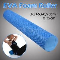 Jual 90CM EVA FOAM YOGA ROLLER Self Myofascial Massage Fitness Roller Murah Murah