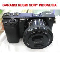 Jual SONY Alpha ILCE-6000L / SONY A6000 + Lensa Kit 16-50mm (GARANSI RESMI) Murah
