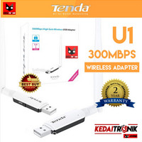 TENDA U1 USB Wireless Adapter FAST 300mbps Wifi Dongle/ Receiver N300