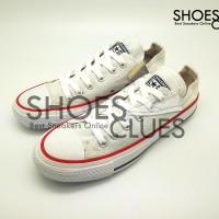 Sepatu Converse All Star Low White cowok/cewek warna putih/variasi