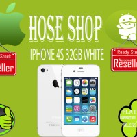 iphone 4s 32gb white garansi distributor 1tahun