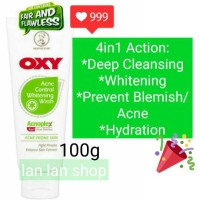 Oxy Acne Control WHITENING FACE WASH 100g 100 gram