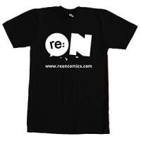 Kaos Logo re:ON T-shirt Reon Hitam
