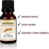 Happy Green Minyak Atsiri Akar Wangi (80 ml)- Vetiver Essential Oil
