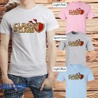 baju kaos t-shirt anime manga kartun COC CLASH OF CLAN 04