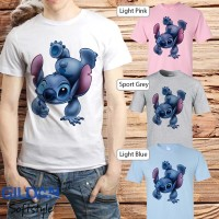baju kaos t-shirt anime manga kartun STITCH 17
