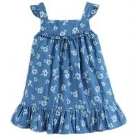 harga Baju Dress Anak Biru Mom N Bab - Motif Bunga Tokopedia.com
