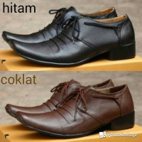 Jual Sepatu Pantofel Casual Tali/ Kulit Asli/ Slip On Slop/ Cevany, Kickers Murah