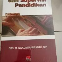 Buku Administrasi Dan Supervisi Pendidikan.