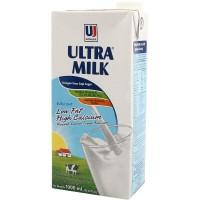 Susu UHT Ultra Milk Low Fat Putih Full Cream 1 L iter
