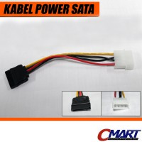 Kabel Power SATA Converter Molex to SATA - CBL-PWML4MSA15F-018