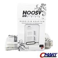 NOOSY Dual SIM Adapter Standard Nano Micro with Tray Holder - SM-3ADP