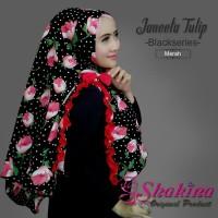 Hijab/ Kerudung/ Jilbab Syar'i Janeeta Tulip/ Khimar Janeeta Tulip