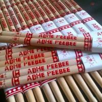 Stick Drum Bahan Maple Custom / Request Nama (12Pasang)