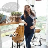 Blous Batik Anggita Bow