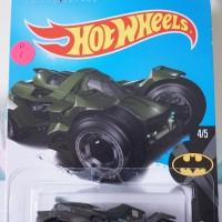 D0001-HOT WHEELS / HOTWHEELS-BATMAN: ARKHAM KNIGHT BATMOBILE-HITAM