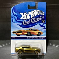Hot Wheels Chevy Camaro Concept Cool Classics Gold