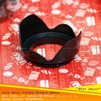 *NEW* Lens HOOD Flower ukuran 58mm