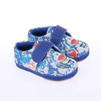 Sepatu Anak Balita Laki-Laki Kets Sneaker Doraemon Biru Lucu 0C4H3Y