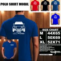Polo Shirt Mobil DATSUN GO CROSS SILUET TD/Baju Kaos Kerah Otomotif