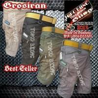 Jual celana pendek Cargo bawahan pria celana tactical casual airsoft Murah