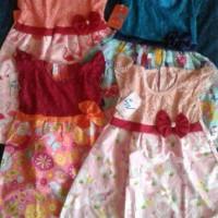 baju anak perempuan baju pesta busana muslim brokat maxi dress stelan