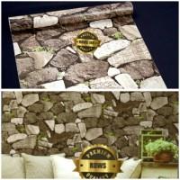 Wallpaper Sticker Dinding Motif Batu Alam