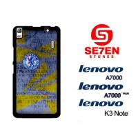 Casing HP Lenovo A7000, A7000 Plus, K3 Note chelsea name Custom Hardca