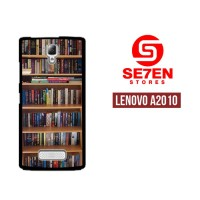 Casing HP Lenovo A2010 book library Custom Hardcase Cover