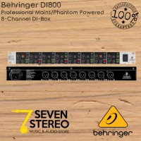 Behringer DI800 DI BOX 8 Channel For Stage And Studio