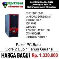 Paket PC Rakitan Core 2 Duo E8400 LGA 775