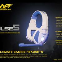 Headset Gaming Armaggeddon Pulse 5