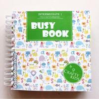 BUSY BOOK by Crafty Kids : Intermediate 1 buku busybook handmade