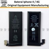 harga Baterai Apple Iphone 4 / 4g / 4 G Original 100%   Battery Batrai Batre Tokopedia.com
