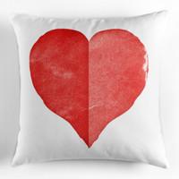 Sarung Bantal - Cushion Cover - Origami Heart - Vintage Love