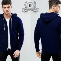 Jaket Hoodie Zipper Basic PREMIUM ( BEST SELLER )