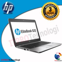 HP Elitebook 820 G4 - Core i5-7200U-8GB-256GBssd-12.5
