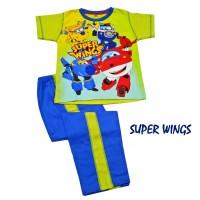 SUPER WINGS Setelan Celana Panjang Anak cowok Produk Anne Claire.