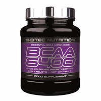 EXCLUSIVE BCAA 6400 375 Tabs Scitec Nutrition