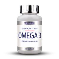 EXCLUSIVE Omega 3 EPA & DHA Fish Oil 100 Caps Scitec Nutrition