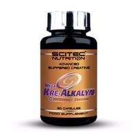 EXCLUSIVE Mega Kre Alkalyn 80 Caps Scitec Nutrition