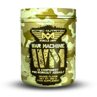 EXCLUSIVE War Machine 13 Component Pre Workout Assault 350 gr Scitec N