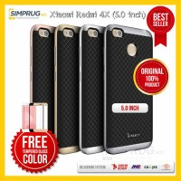 PAKET Original Ipaky Bumper Case Xiaomi Redmi 4X 5.0 inch Casing Soft