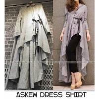 Fashion muslim busana dress gamis syari modern trendy ok|DN00056 murah